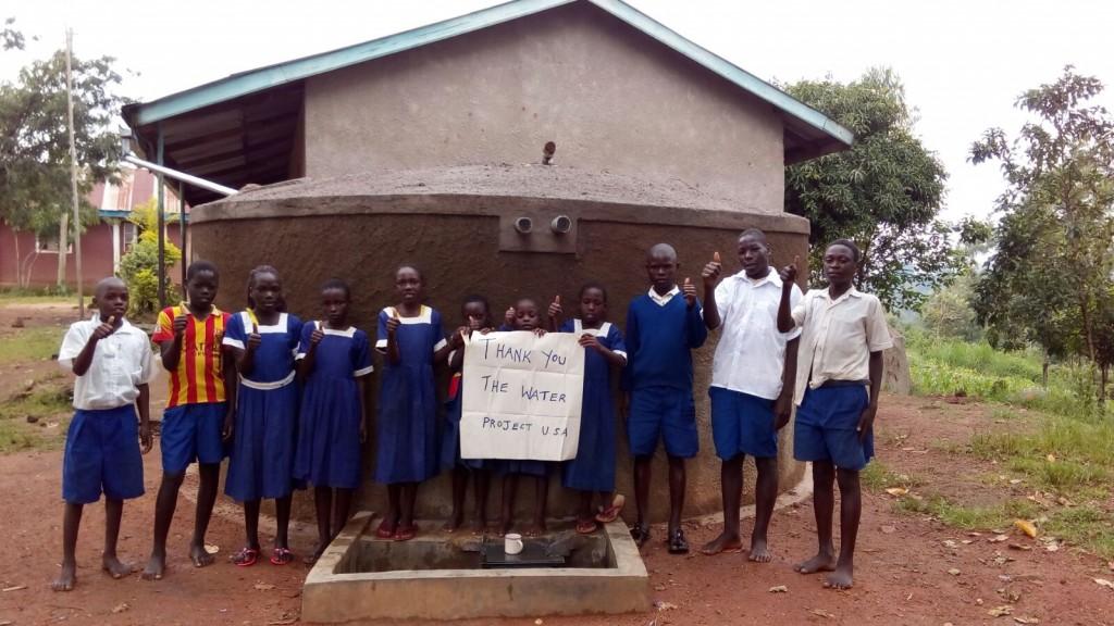 Photo of Ebulondi Primary School Rainwater Harvesting and VIP Latrines