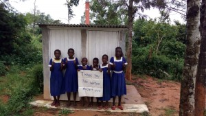 The Water Project : kenya4325-16-new-girls-latrines