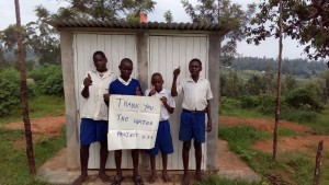 The Water Project : kenya4325-17-new-boys-latrines