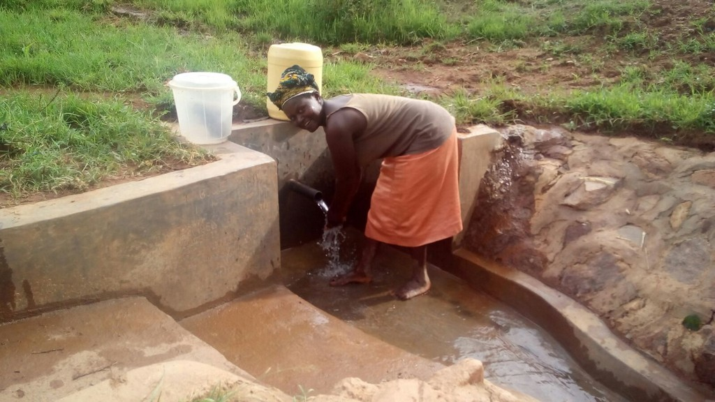 Kabole Spring Protection and Sanitation Project