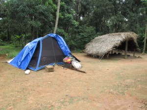 The Water Project : kenya5072-40-worker-tent
