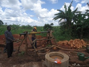 The Water Project : uganda6062-10-construction