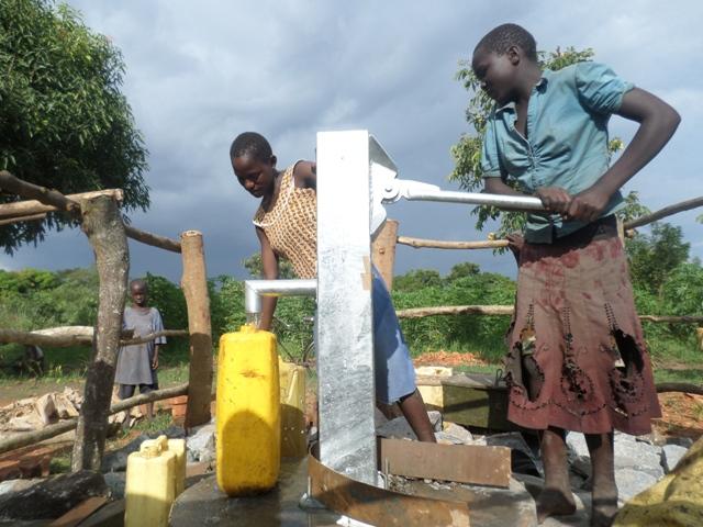 Photo of Siriba Kitereke Hand Dug Well Project