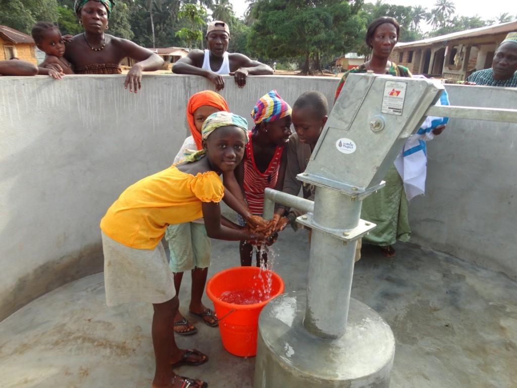 Photo of N'Baimbaya Community New Well Project
