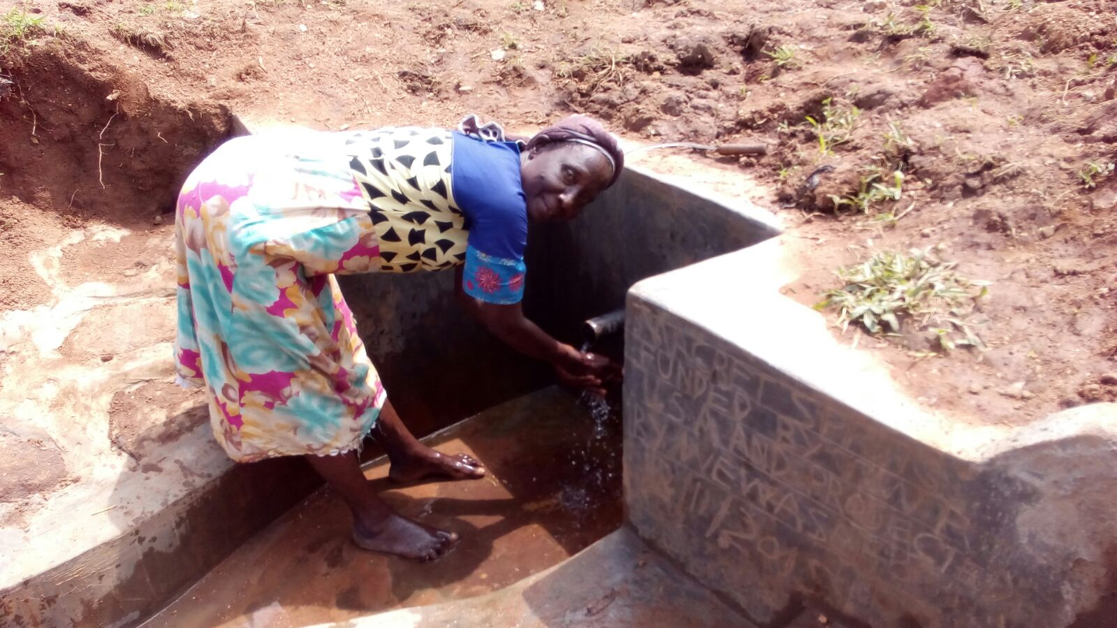 Margret Spring Protection and Sanitation Project