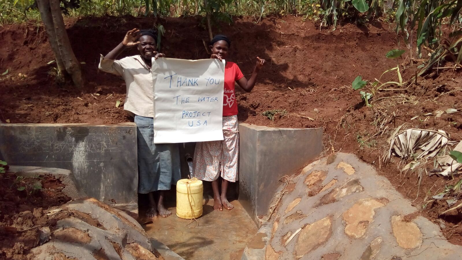 Simon Otundo Spring Protection and Sanitation Project