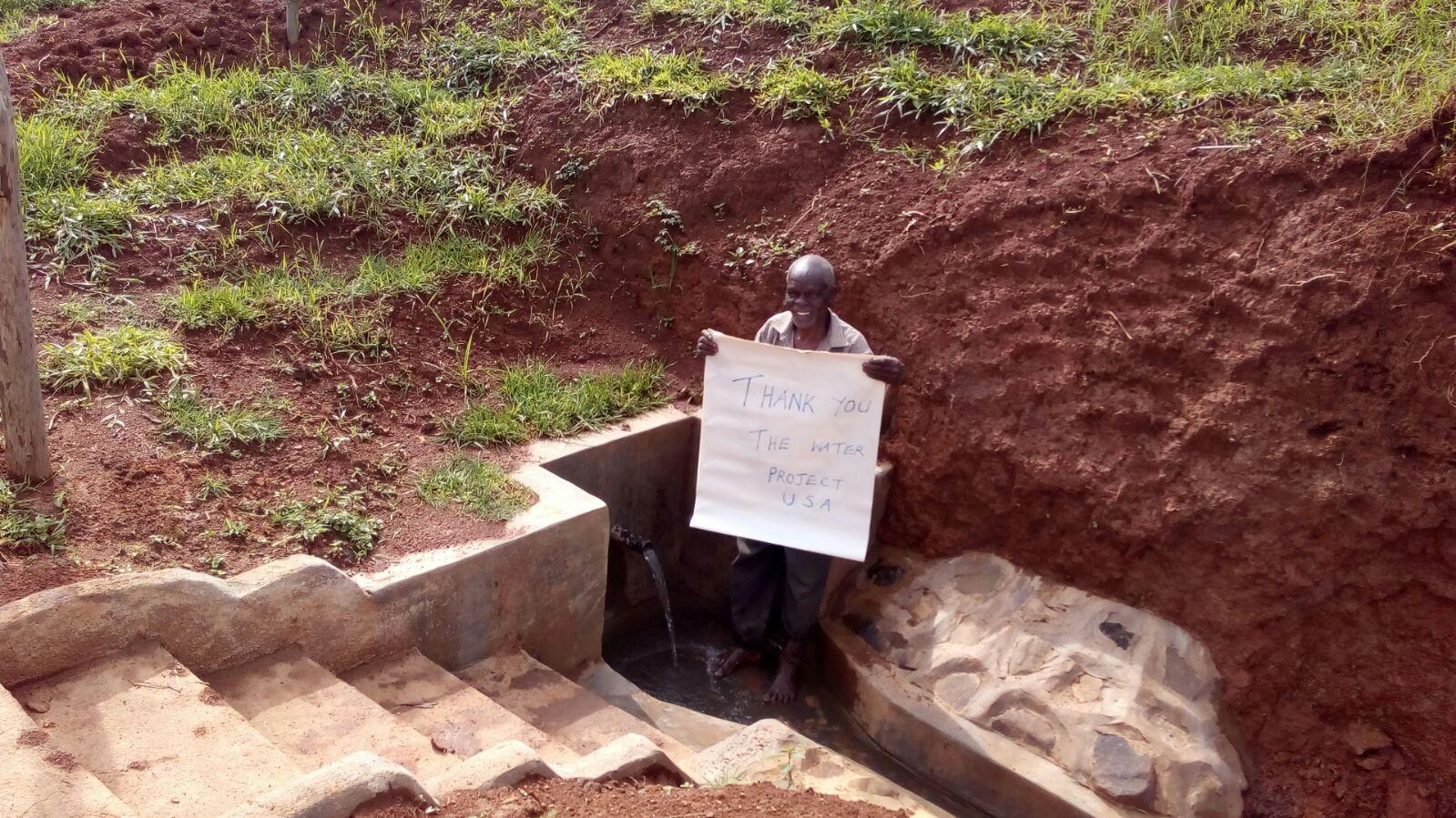 Robert Abu Spring Protection and Sanitation Project
