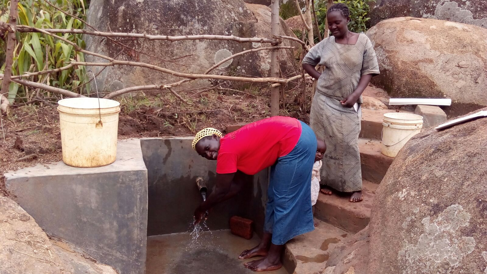 Johnson Mmeri Spring Protection and Sanitation Project