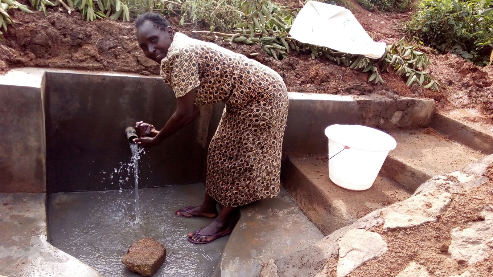 Arthur Okwemba Spring Protection and Sanitation Project