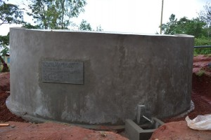 The Water Project : kenya4451-31-finished-tank