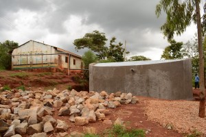 The Water Project : kenya4451-35-finished-tank