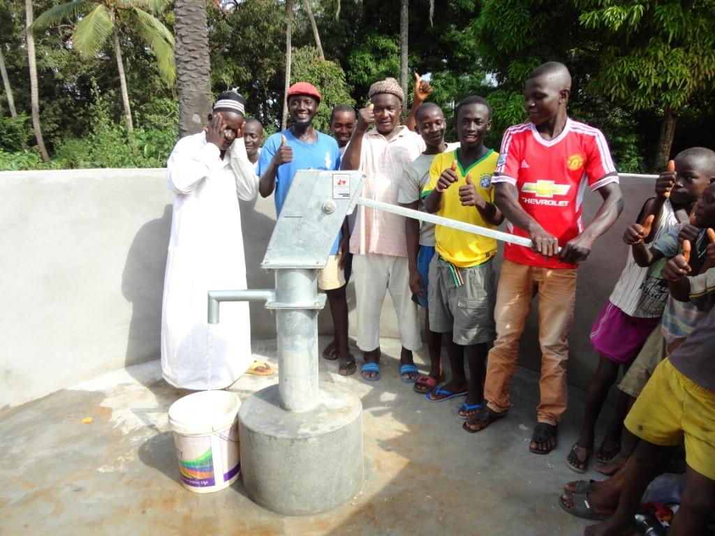 Photo of Kagbanthama Village New Well Project