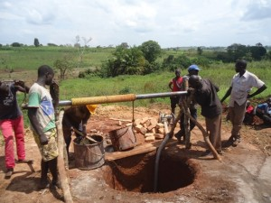 The Water Project : uganda6064-11-construction