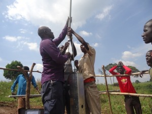 The Water Project : uganda6064-16-pump-installation