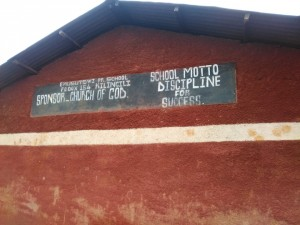 The Water Project : 1-kenya4599-school-sign