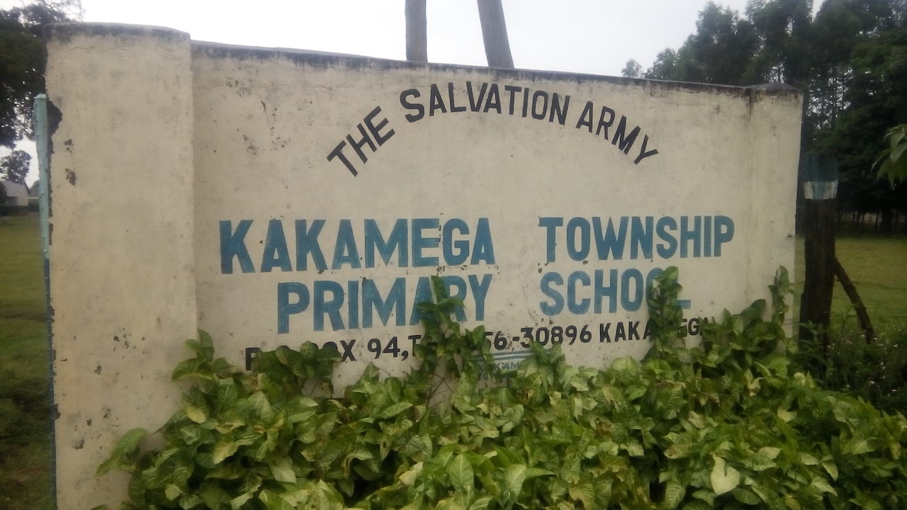 The Water Project : 1-kenya4602-school-sign