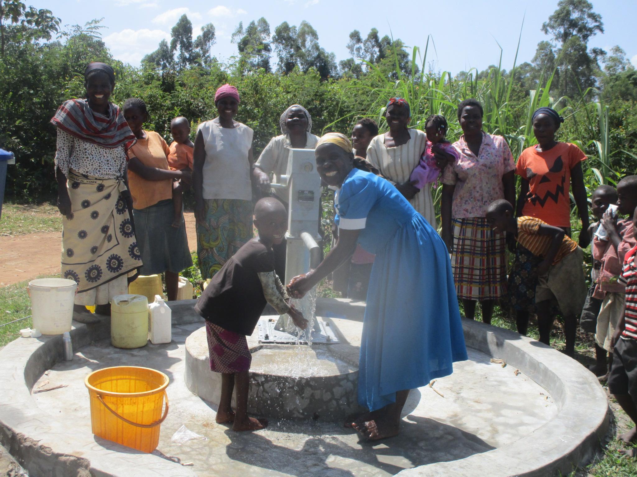 Mukangu 2 Well Rehabilitation Project