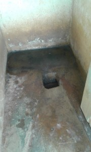 The Water Project : 3-kenya4597-inside-latrine