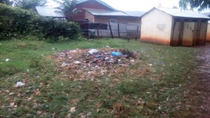 The Water Project : 3-kenya4602-trash-pit