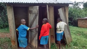 The Water Project : 4-kenya4595-latrines