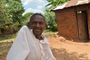 Justus Munyasya, discussing her newly donated water project in Kenya