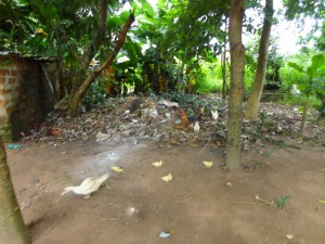 The Water Project : 11-sierraleone5097-rubbish-pile