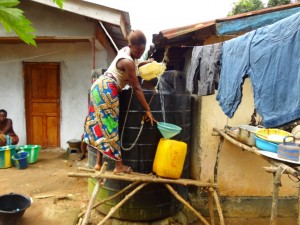 The Water Project : 15-sierraleone5097-rainwater-catchment