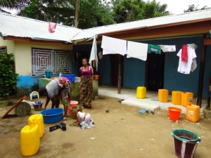 The Water Project : 16-sierraleone5097-washing-clothes