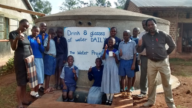 Shivakala Primary School Rainwater Catchment Project