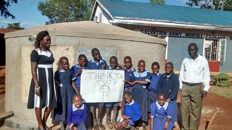 Mukuli Primary School Rainwater Catchment Project