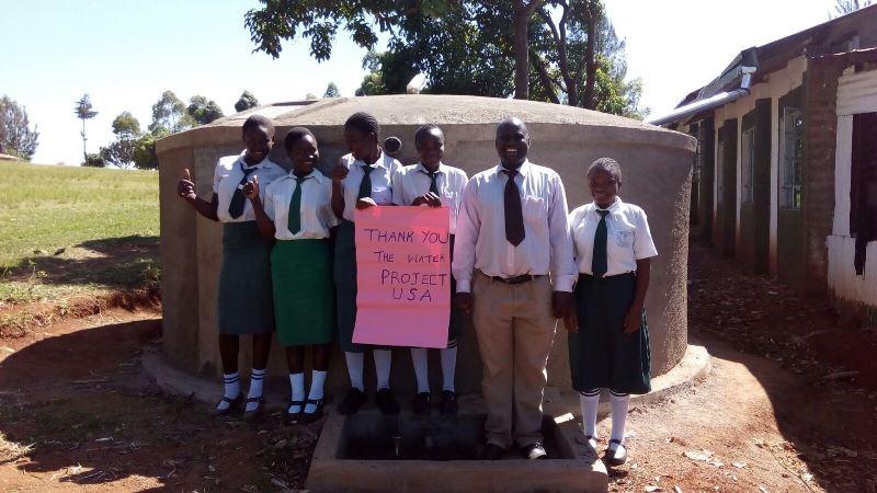 Ebwiranyi Secondary School Rainwater Catchment Project