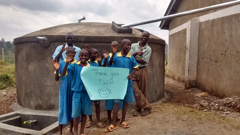 Kimingini Primary School Rainwater Catchment Project
