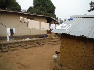 The Water Project : 3-sierraleone5096-clothesline