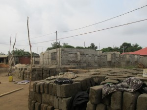 The Water Project : 5-sierraleone5079-bricks-for-construction