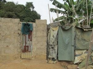The Water Project : 6-sierraleone5079-latrines-and-bathing-houses