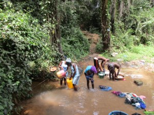 The Water Project : 2-sierraleone5083-fetching-water