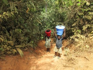 The Water Project : 4-sierraleone5083-fetching-water