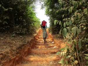 The Water Project : 7-sierraleone5083-fetching-water
