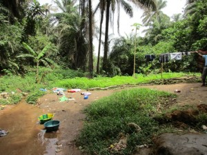 The Water Project : 9-sierraleone5083-clothesline