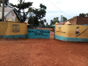 The Water Project : 1-kenya4605-school-gate