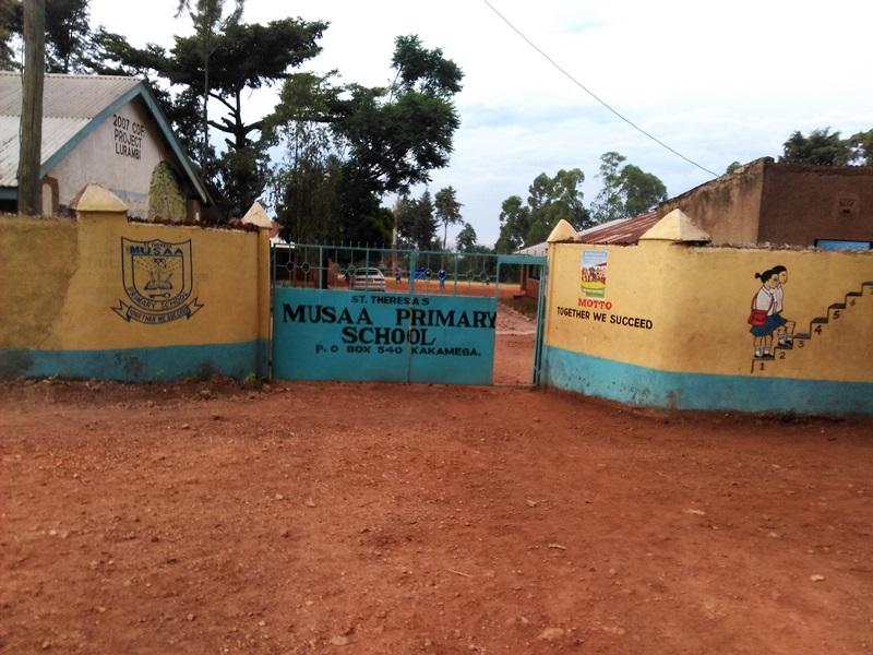 The Water Project : 1-kenya4605-school-gate