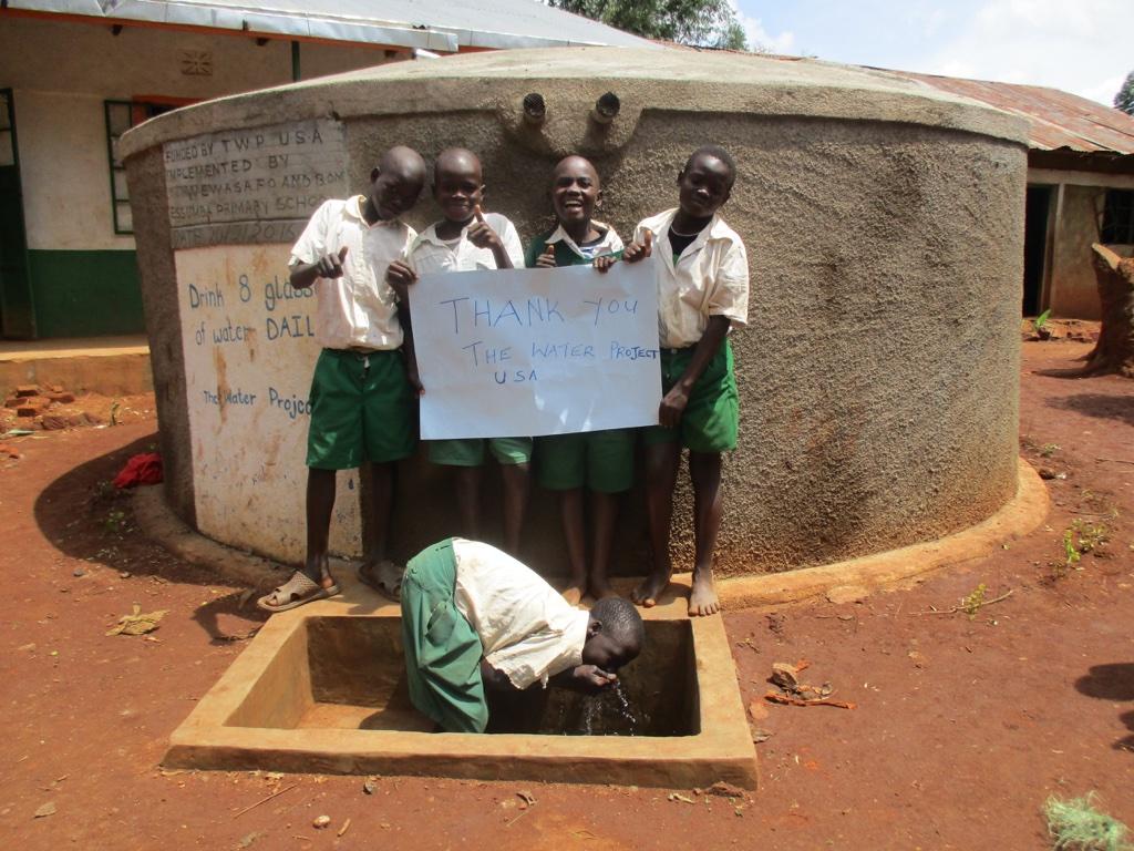 Essumba Primary School Rainwater Catchment Project