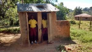 The Water Project : 1-kenya4604-latrines