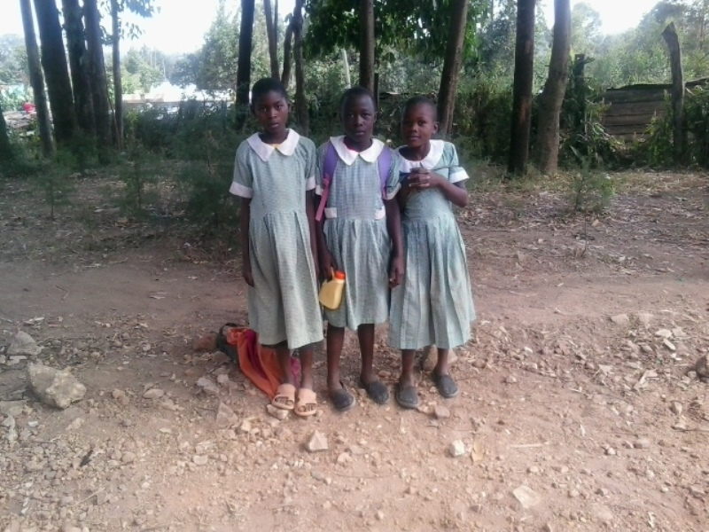 The Water Project : 1-kenya4607-students