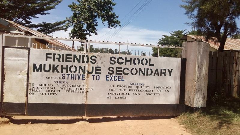 The Water Project : 1-kenya4610-school-entrance