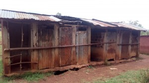 The Water Project : 2-kenya4609-latrines