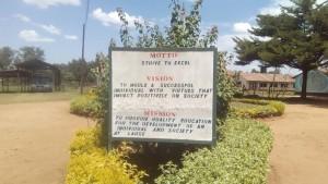 The Water Project : 2-kenya4610-school-motto