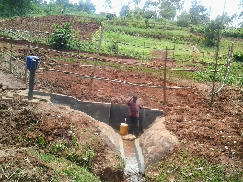 Wakidima Spring Protection Project