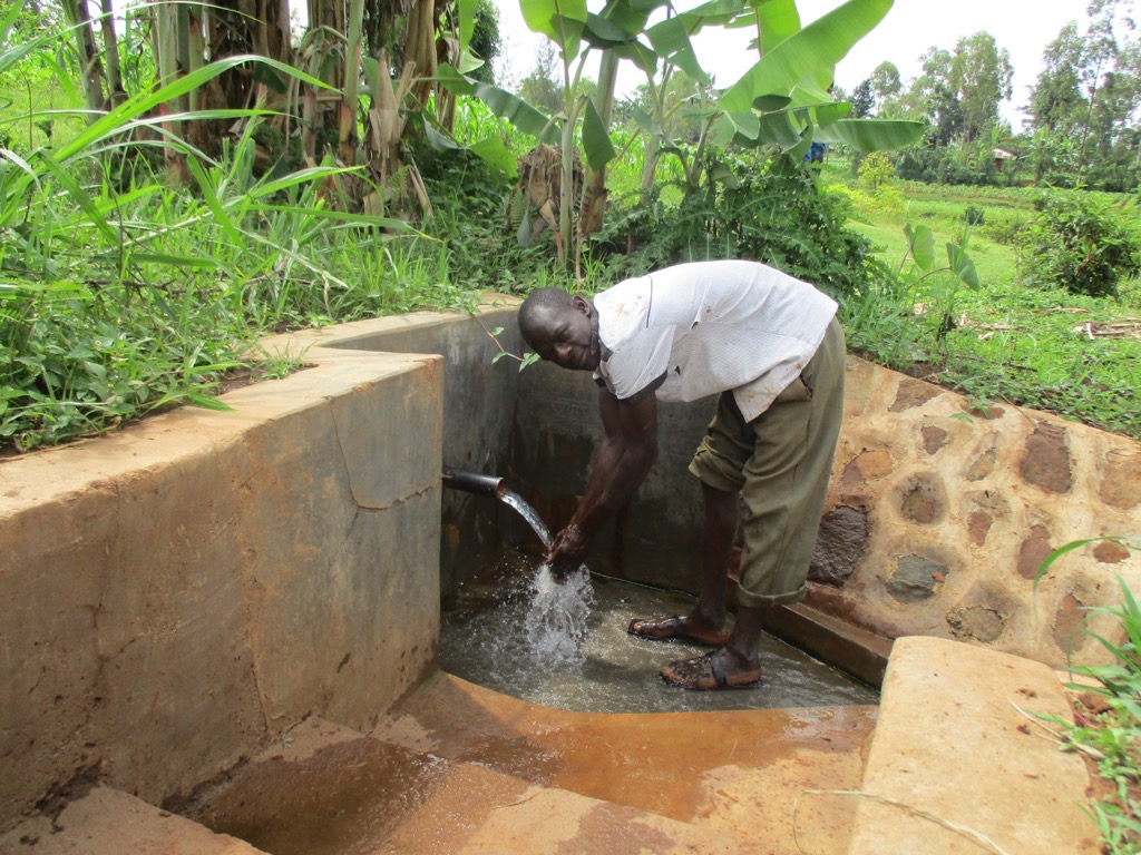 Esilaba Spring Protection Project