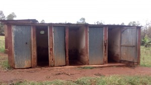 The Water Project : 3-kenya4609-latrines
